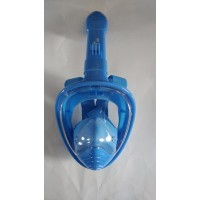 Kid's H2O Sporting Full Face Snorkel Mask -180 View Dry Top Snorkeling w/ Camera Mount